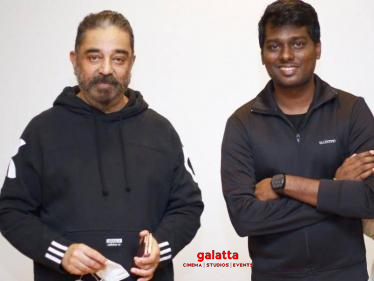 Atlee and Andhaghaaram team meet Kamal Haasan - Pictures go viral!