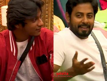 Aari's interesting reply to Aajeedh's family - latest exciting Bigg Boss 4 promo - Tamil Cinema News