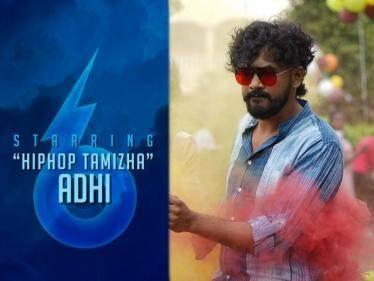 hiphop tamizha next movie with maragatha naanayam fame ark saravan