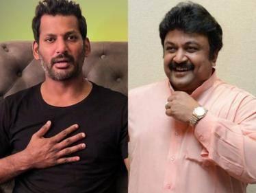ilayathilagam prabhu joins hands with vishal again in vishal 32 movie