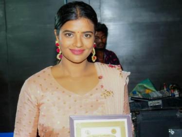 சர்வதேச திரைப்பட விழாவில் நடிகை ஐஸ்வர்யா ராஜேஷுக்கு கிடைத்த அங்கீகாரம் !