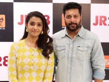 jayam ravi 28 starts with a pooja priya bhavani shankar director kalyan