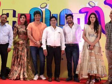 jiiva mirchi shiva golmaal tamil movie launched payal rajput tanya hope