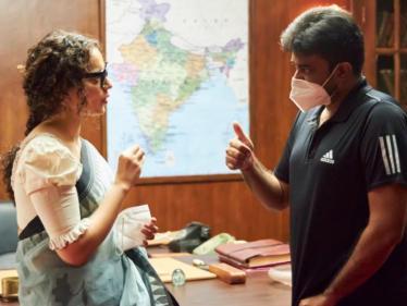 விஜய் இயக்கத்தில் உருவாகும் தலைவி திரைப்படம் குறித்து கங்கனா பதிவு !