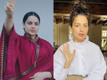 தலைவி ட்ரான்ஸ்ஃபர்மேஷன் குறித்து பேசிய நடிகை கங்கனா ரனாவத் !