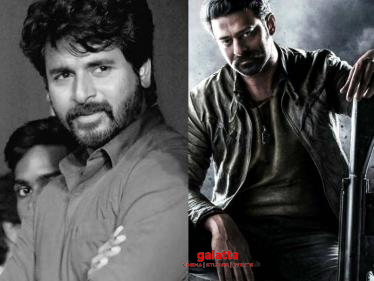 SK excited about Prabhas' next film - Sivakarthikeyan's trending tweet here!