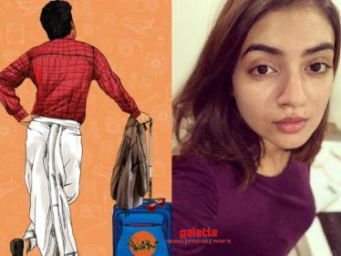 Nani - Nazriya's next film title announced - check out the interesting teaser here!