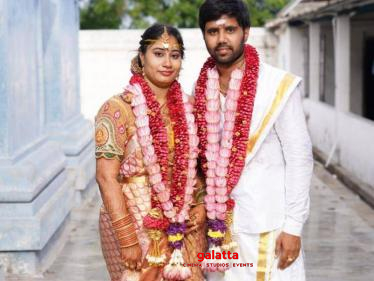 Popular Tamil film actor gets hitched during lockdown - wishes pour in!