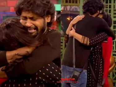 Bigg Boss 4 Emotional Promo - Rio in tears after seeing his wife after 3 months! - Tamil Cinema News