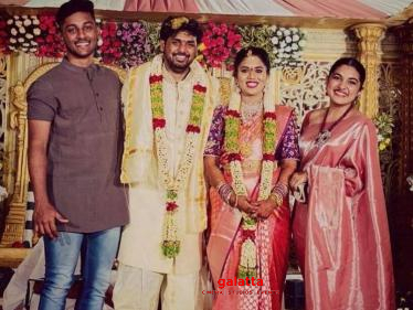 Young and talented filmmaker gets married - Nivetha Thomas shares wedding pictures!