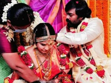 Producer - Actor RK Suresh gets married - Wedding Photos Here!