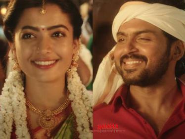 Karthi's Sulthan - Super Grand Celebratory Video Song | Check Out | Rashmika - Tamil Cinema News