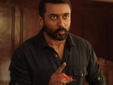 Suriya film gets an interesting title - Check out the official Trailer here! - Tamil Cinema News
