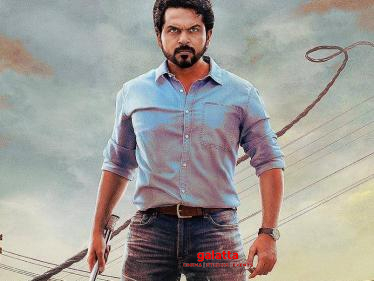 Director confirms the big change in Karthi's Sulthan - exciting news for fans! - Tamil Cinema News