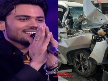 SHOCKING: Popular singer dies in a tragic car accident - Chief Minister expresses condolences! - Tamil Cinema News