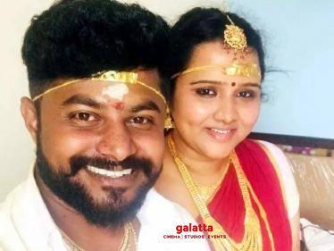 Good News: Deivamagal serial actress gets married - wedding photos here!