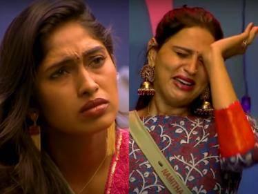 namitha emotional vijay tv bigg boss tamil season 5 1st promo of oct 7th