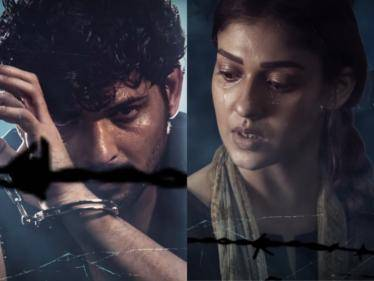 nayanthara netrikann title track song released now