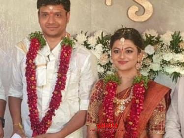 Official: Actress Kayal Anandhi gets married to the love of her life - wedding pictures here!