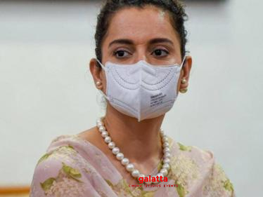 Actress Kangana Ranaut tests negative for Covid 19 - controversial statement goes viral! - Tamil Cinema News