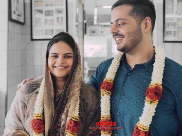 Actress Vidyu Raman gets engaged - engagement pictures go viral on social media!