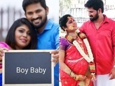 This popular Tamil TV serial actor blessed with a baby boy - wishes pour in!
