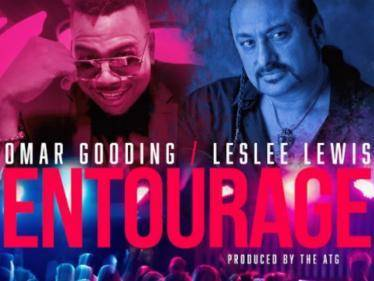 pop stars omar gooding and leslee lewis join hands for entourage song