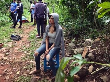 நடிகை ரைசா வெளியிட்ட தி சேஸ் படத்தின் ஷூட்டிங் ஸ்பாட் புகைப்படம் !