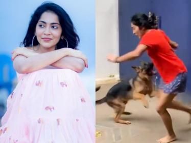 ரம்யா பகிர்ந்த வீடியோவால் உற்சாகமான நெட்டிசன்ஸ் !