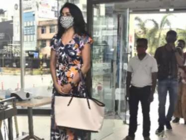 லாக்டவுனுக்கு பிறகு ஷாப்பிங் சென்ற நடிகை ரம்யா ! மாலில் மாஸ் என்ட்ரி