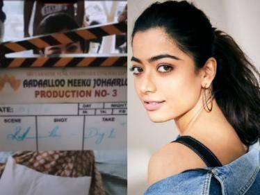 rashmika mandanna next movie shooting starts with sharwanand