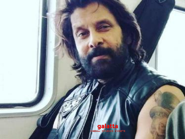 Chiyaan Vikram's Cobra - New Video from shooting spot | Ajay Gnanamuthu