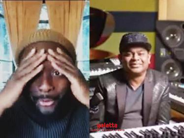 Video: ''What was that? When I first heard it, it was yowwww'' | Black Eyed Peas | ARR