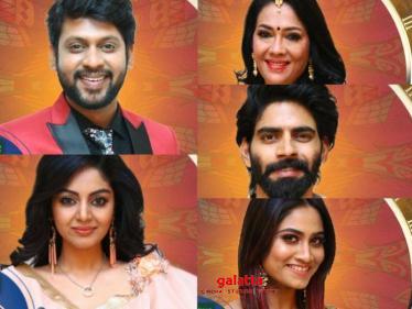 OFFICIAL: Bigg Boss 4 Tamil - Final List of Contestants   Vera Level Entertainment!