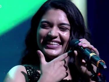 குட்டி ஸ்டோரி பாடலை பாடி அசத்தும் செம்பருத்தி நடிகை !