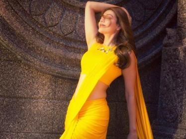 இன்ஸ்டாகிராமில் இமாலய சாதனையை நிகழ்த்திய காஜல் அகர்வால் !
