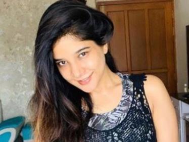 நடிகை சாக்ஷி அகர்வால் வெளியிட்ட ஒர்க்அவுட் வீடியோ !