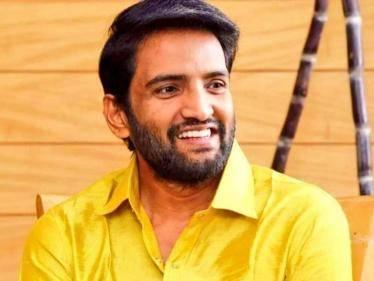 santhanam next remake of agent sai srinivasa athreya first look announcement