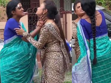 வெண்பாவை மிரட்டிய கண்ணம்மா ! வீடியோ இதோ