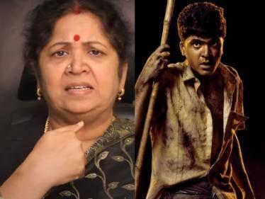 silambarasan mother usha rajendar video on red card issue on silambarasan