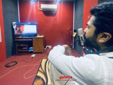 Simbu completes Eeswaran dubbing, surprises crew with Diwali gifts