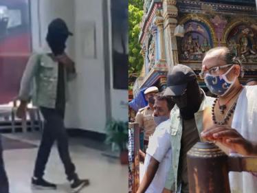 மதுரை மீனாட்சி அம்மன் கோயிலில் சாமி தரிசனம் செய்த STR !