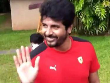 sivakarthikeyan meets fans at don shooting pollachi priyanka mohan sivaangi