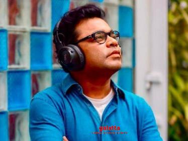 A.R.Rahman announces his next project - unveils the motion poster!