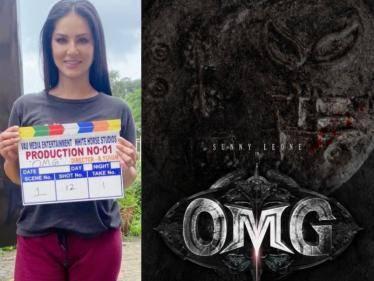 sunny leone dharsha gupta horror comedy oh my ghost movie shoot started
