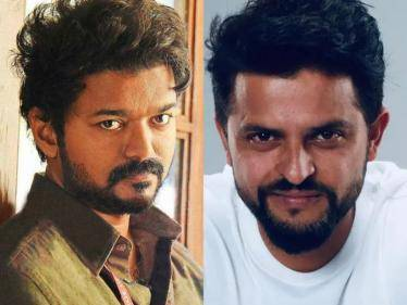 suresh raina about thalapathy vijay and master in tnpl commentary