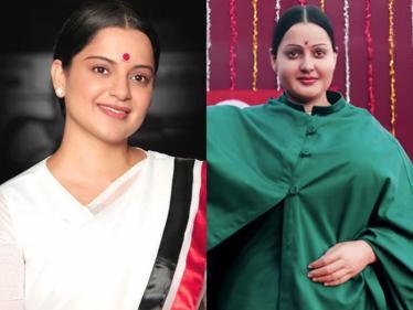 தலைவி திரைப்படம் குறித்து கங்கனா பதிவு !