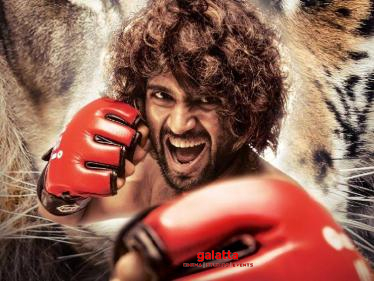 Vijay Deverakonda gets emotional about the response to Liger's first look!