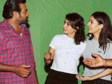 trending shooting spot photos from sets of kaathu vaakula rendu kadhal