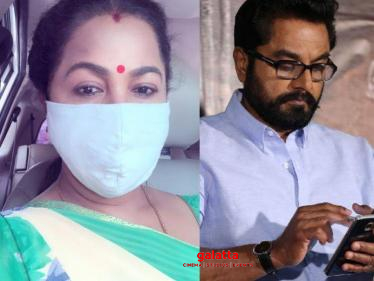 Sarathkumar tested positive for Covid-19 | Radikaa's important statement!